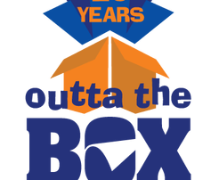Outta The Box Anniversary logo
