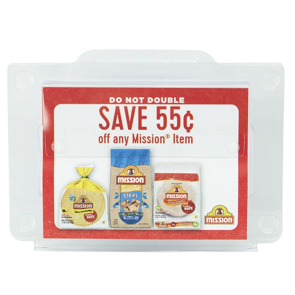 Mission Coupon Dispenser - Outta The Box