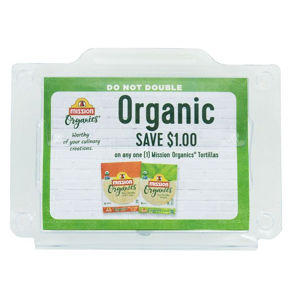 Organic Mission Coupon Dispenser - Outta The Box